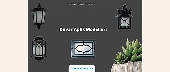 Duvar Aplik Modelleri ve Çeşitleri