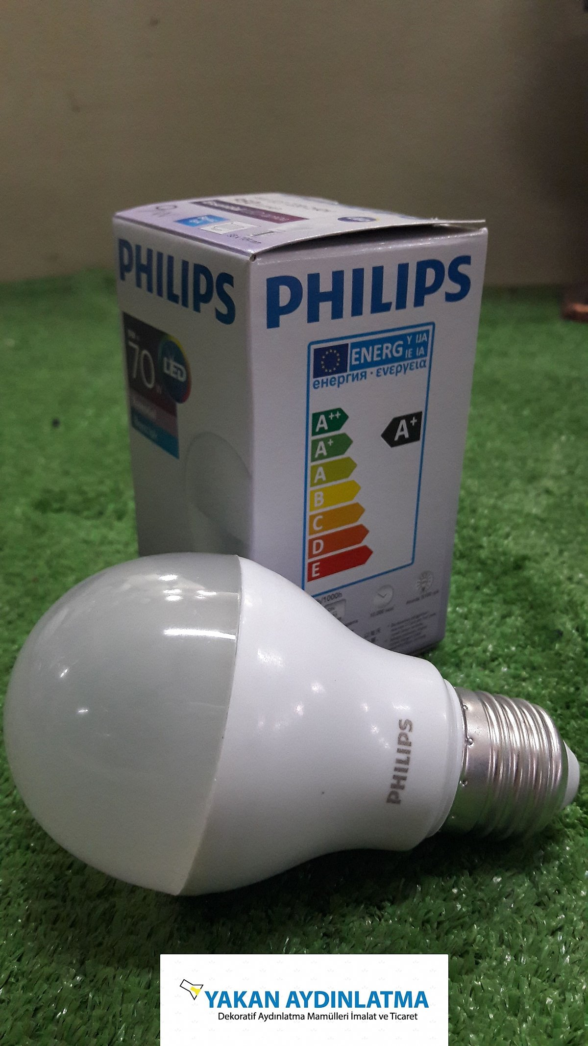 PHILIPS ESSETİAL ED AMP. 9W 6500K A60 E27 950LM