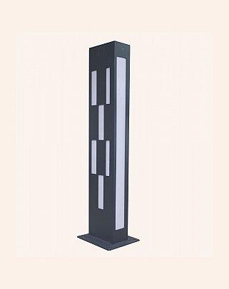 Y.A.29050 - Modern Bollard Bega Çim Direği