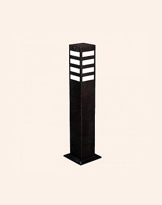 Y.A.29204 - Modern Bollard Bega Çim Direği
