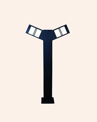 Y.A.29908 - Modern Bollard Bega Çim Direği