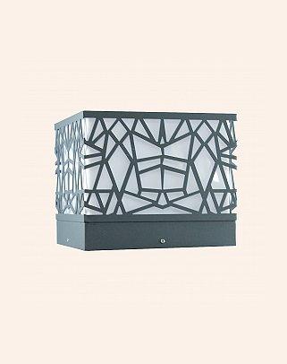 Y.A.29957 - Modern Bollard Set Üstü