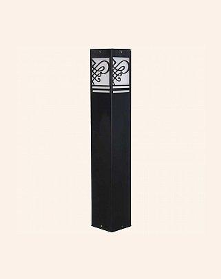 Y.A.30090 - Modern Bollard Bega Çim Direği