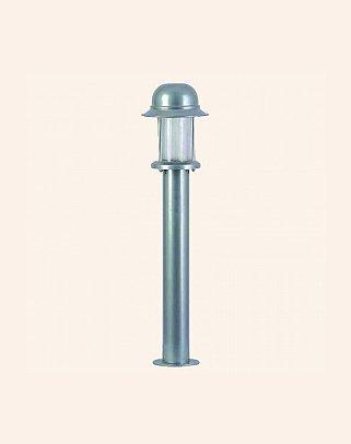 Y.A.35230 - Modern Bollard Bega Çim Direği