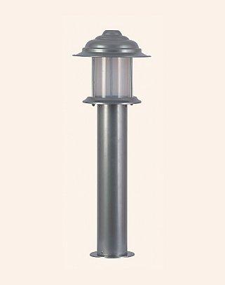 Y.A.42070 - Modern Bollard Bega Çim Direği