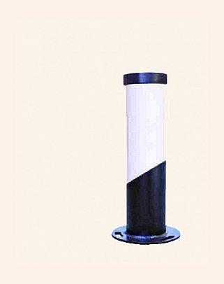 Y.A.44510 - Modern Bollard Bega Çim Direği