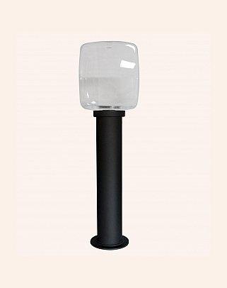 Y.A.44930 - Modern Bollard Bega Çim Direği