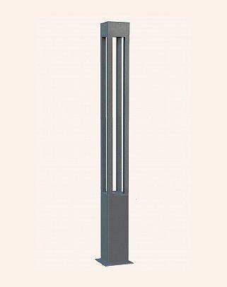 Y.A.84070 - Modern Yüksek Bahçe Aydınlatma Direkleri